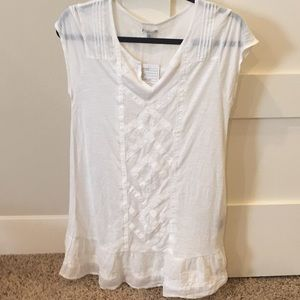 Ecote Linen Tunic Urban Outfitters